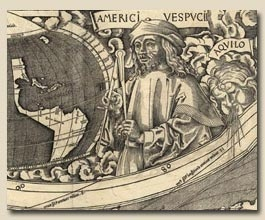 Martin Waldseemuller1507 map including